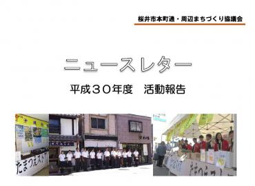 ニュースレター平成30年度活動報告