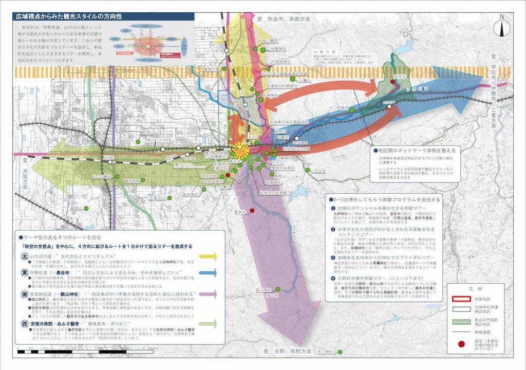 【エリアマップ】広域視点からみた観光スタイルの方向性
