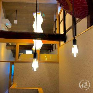 二階の照明
